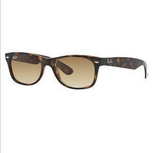 Ray Ban New Wayfarer Tortoise and Brown Sunglasses